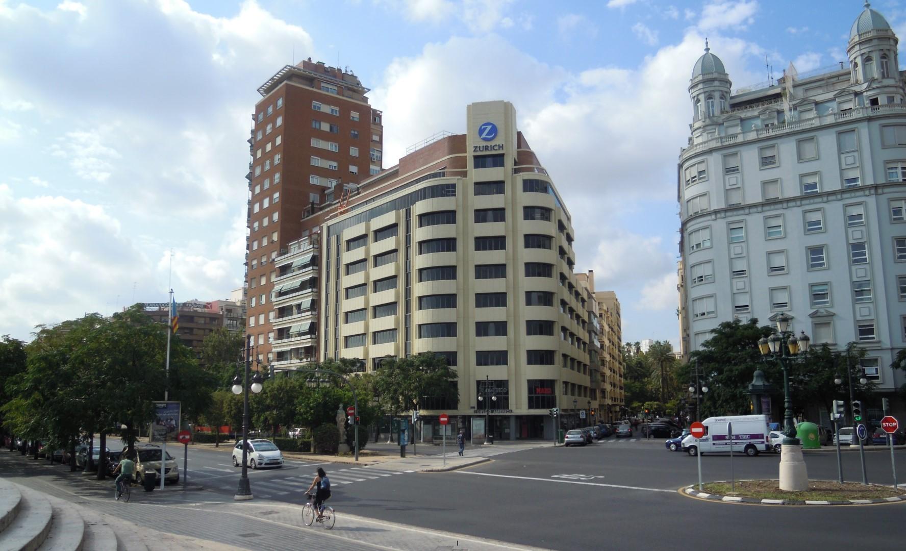 Edificio América in Valencia
